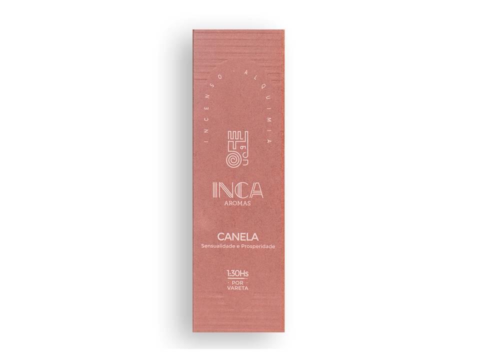Incenso Canela Inca (4 Varetas De 1h30 Cada)