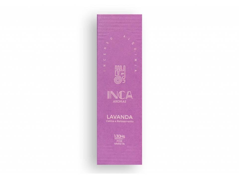 Incenso Lavanda Inca (4 Varetas De 1h30 Cada)
