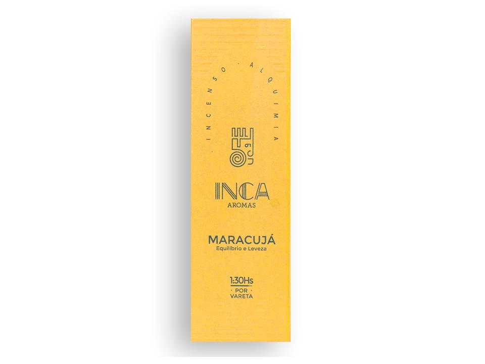 Incenso Maracujá Inca (4 Varetas De 1h30 Cada)