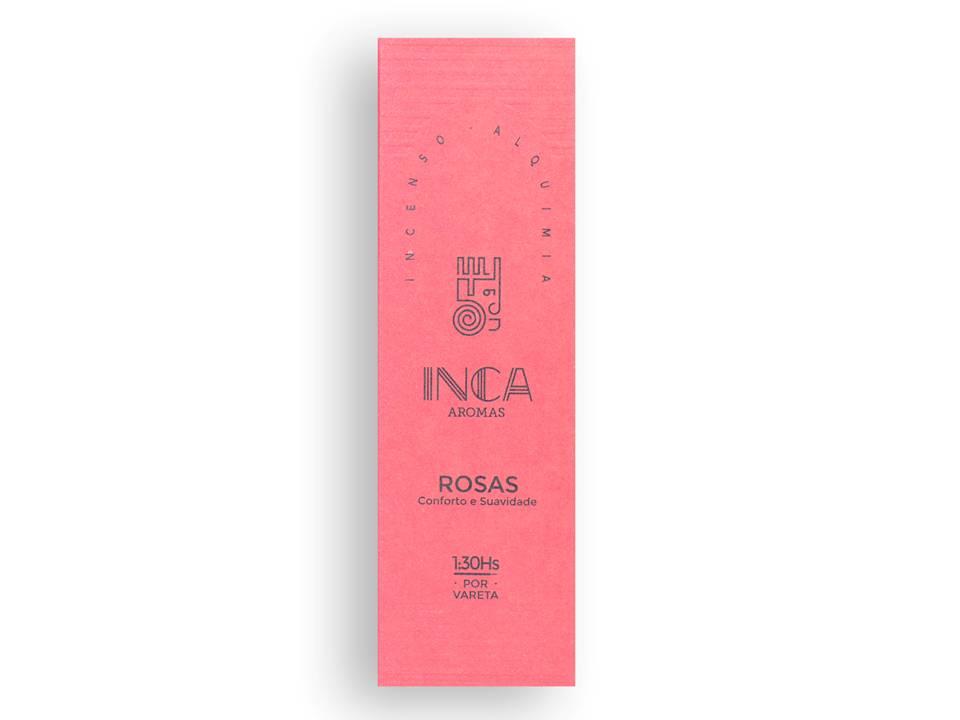 Incenso Rosas Inca (4 Varetas De 1h30 Cada)