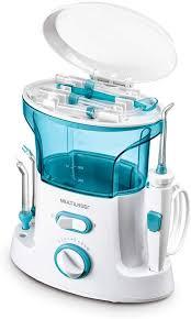 Irrigador Oral Clearpik Limpeza Profunda  Multilaser  Branco/Azul - HC037
