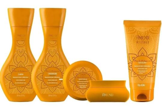 Kit Amend Millenar Óleos de Madagascar - 4 produtos