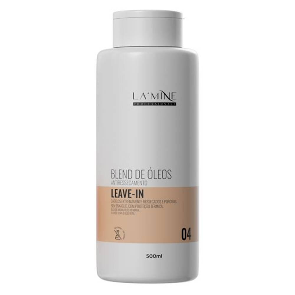 LAMINE LEAVE IN BLEND DE ÓLEOS 500ML - HANOVA