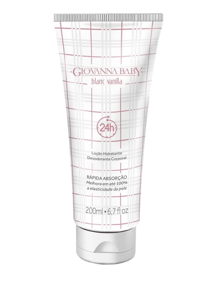 Loção Hidratante Desodorante Giovanna Baby Blanc Vanilla 200ml