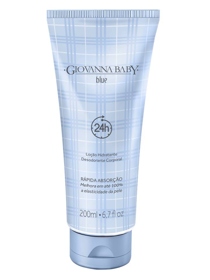 Loção Hidratante Desodorante Giovanna Baby Blue 200ml