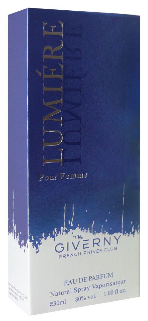 PERFUME FEMININO LUMIERE POUR FEMME    GIVERNY 30ML