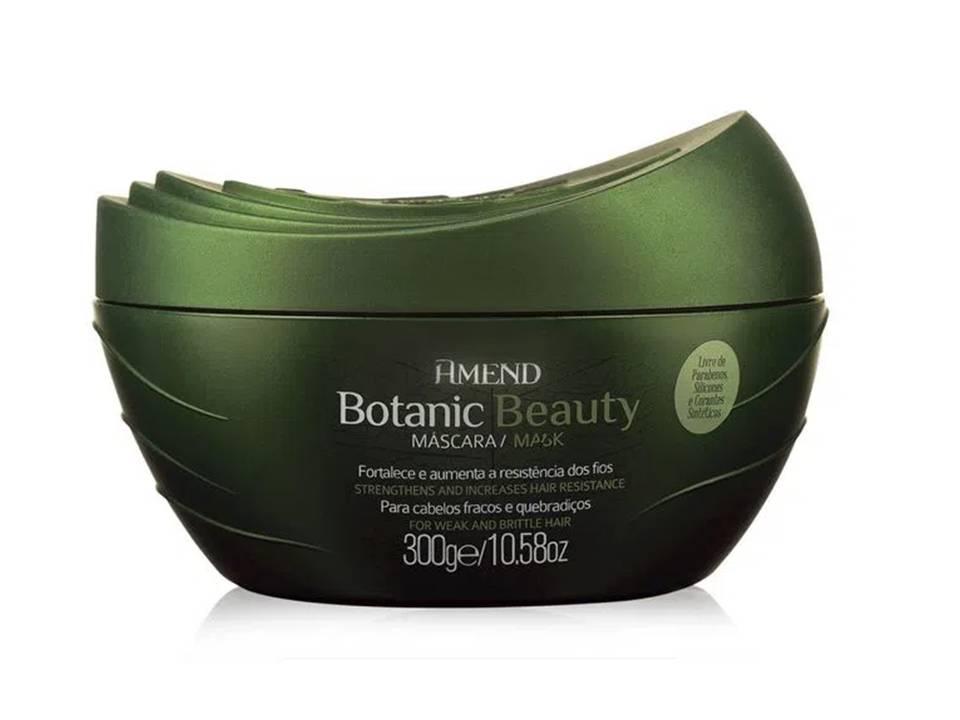 Mascara Amend Botanic Beauty Óleo de Monói e Extratos de Alecrim e Gengibre 300gr
