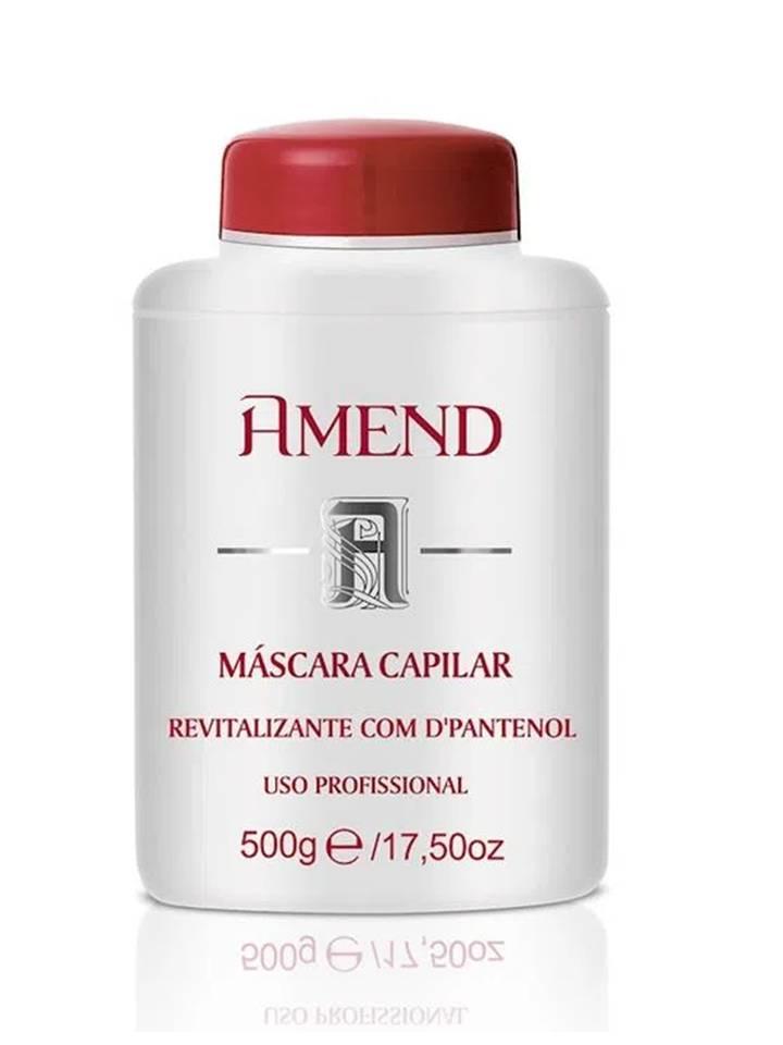 Mascara Capilar Tratamento de Brilho com Vitamina E Amend - 500g