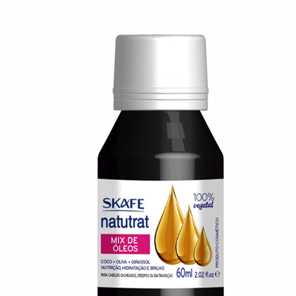 Oleo Capilar Mix de Oleos Skafe Naturat SOS - 60ml - Incolor