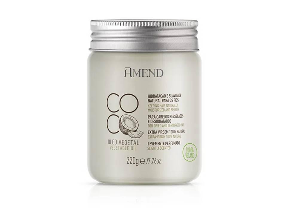 Oleo Vegetal Amend Coco - 220g - Vegano