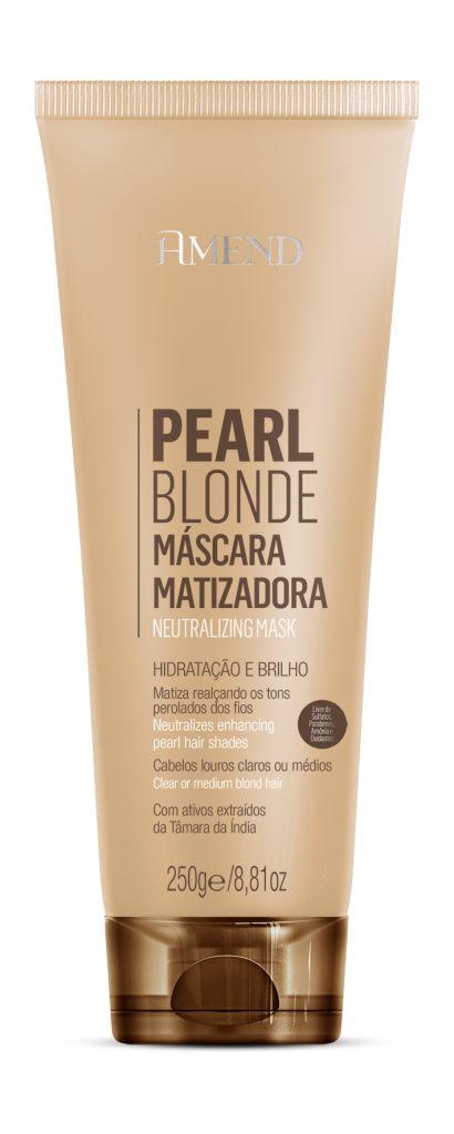 Pearl Blonde Máscara Matizadora Hidratação e Brilho - 250g