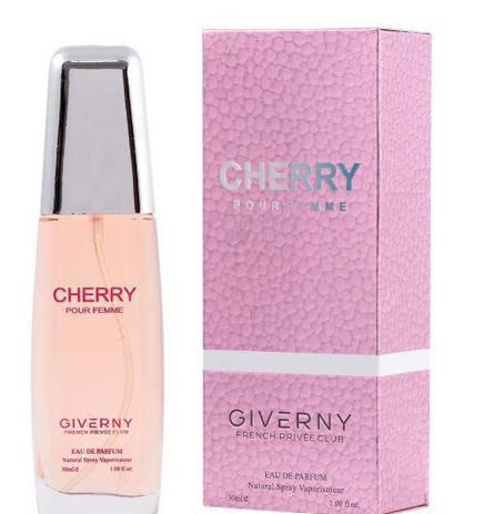 PERFUME FEMININO GIVERNY CHERRY POUR FEMME - 30ML