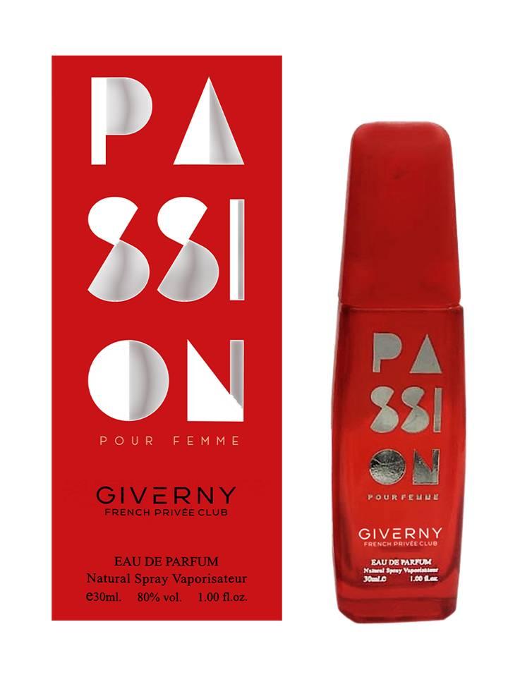 PERFUME FEMININO GIVERNY PASSION POUR FEMME - 30ML