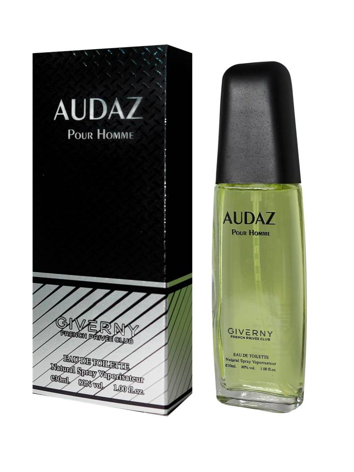 PERFUME MASCULINO GIVERNY AUDAZ POUR HOMME - 30ML