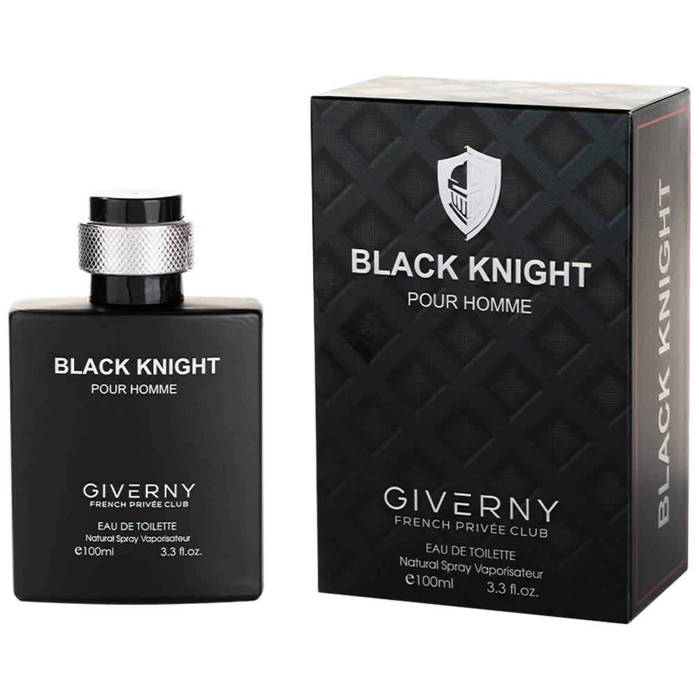 PERFUME MASCULINO GIVERNY BLACK KNIGHT POUR HOMME - 100ML