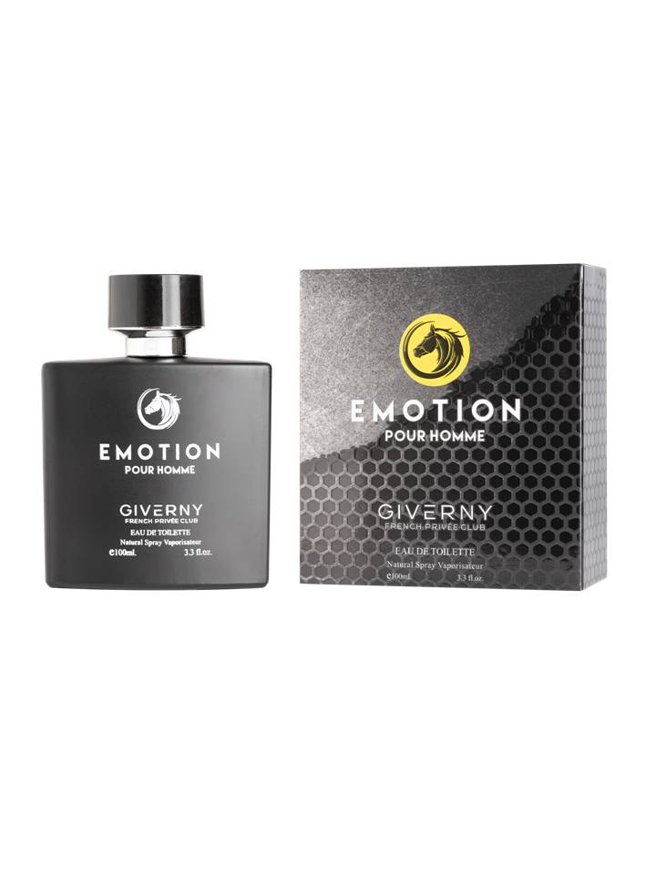 PERFUME MASCULINO GIVERNY EMOTION MEN POUR HOMME - 100ML