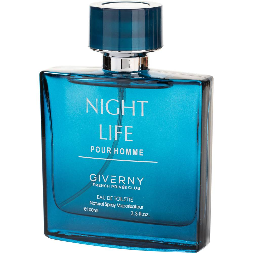 PERFUME MASCULINO GIVERNY NIGHT LIFE POUR HOMME - 100ML