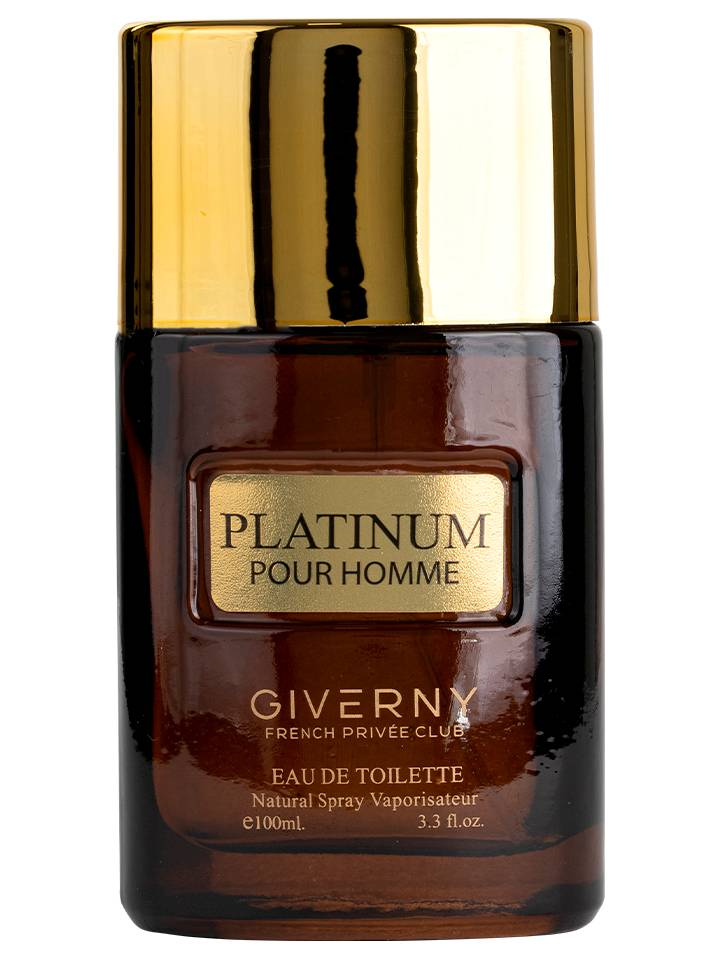 PERFUME MASCULINO GIVERNY PLATINUM POUR HOMME - 100ML