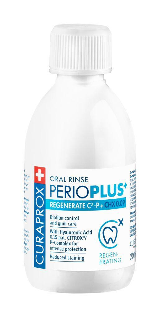 Perio Plus Regenerate Curaprox Enxaguante Bucal 200ml