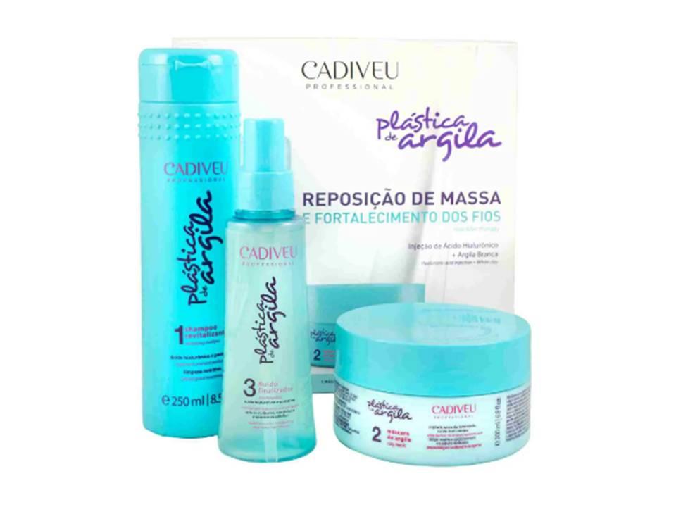 Plastica de Argila - Kit Home Care - Cadiveu Professional