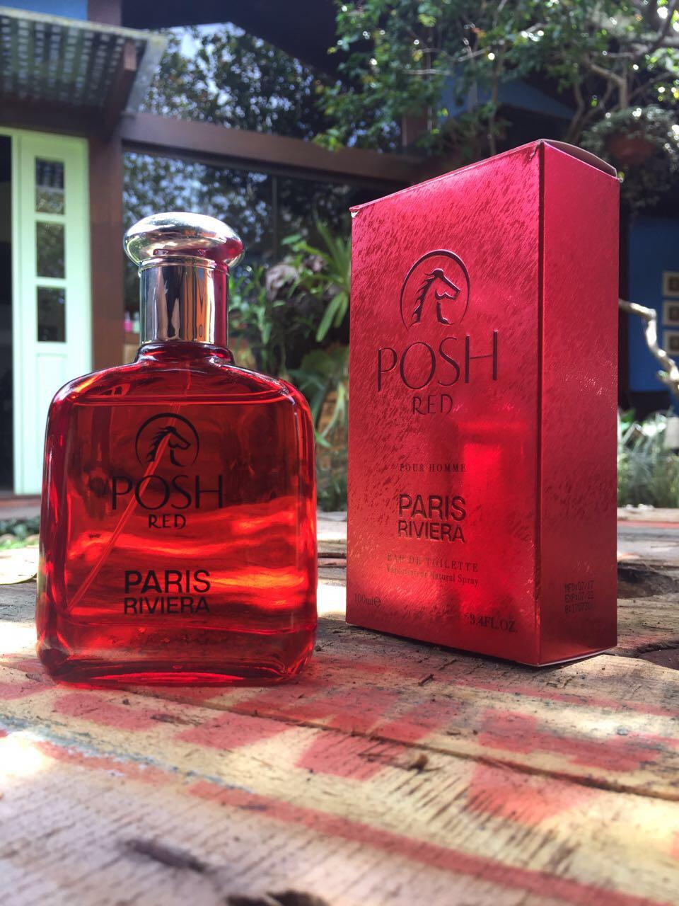 Posh Red Paris Riviera - Perfume Masculino EDT - 100ml