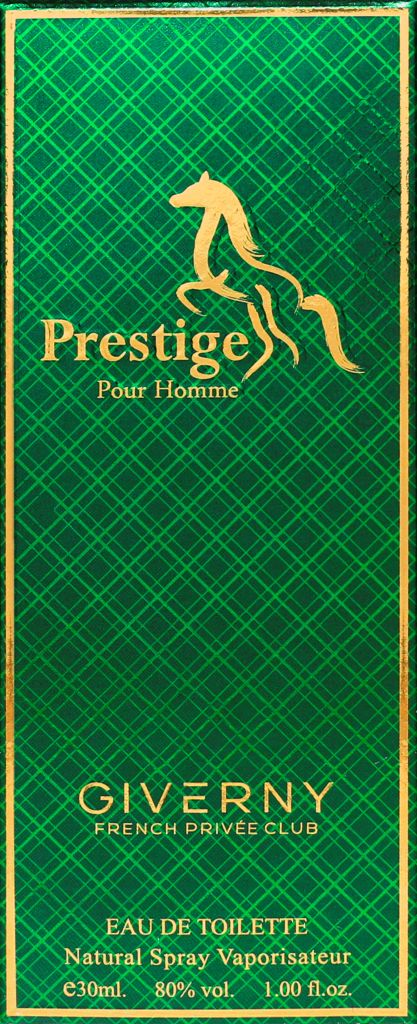PERFUME MASCULINO PRESTIGE POUR HOMME - GIVERNY 30ML