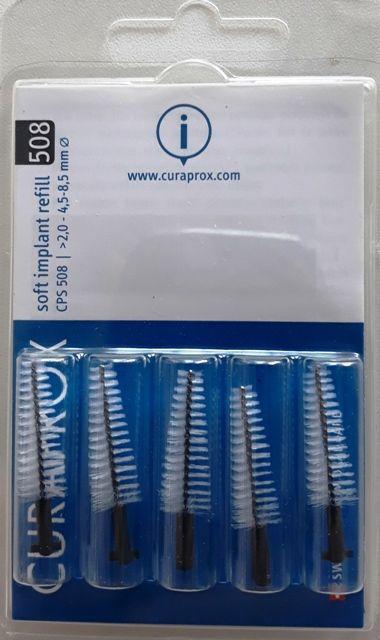 Escova de Implante Refil Soft Implant Curaprox CPS 508