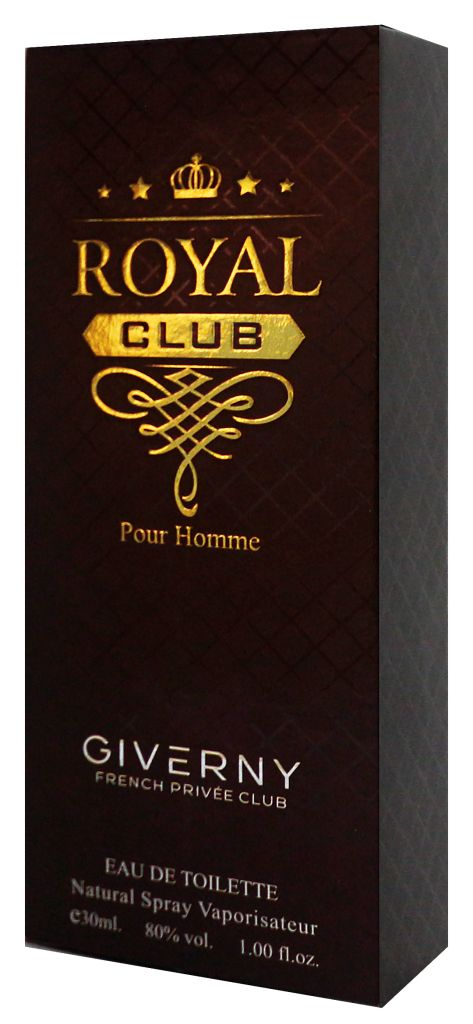 PERFUME MASCULINO ROYAL CLUB POUR HOMME  - GIVERNY 30ML