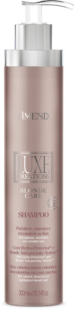 Shampoo Amend Luxe Creations Blonde Care - 300ml