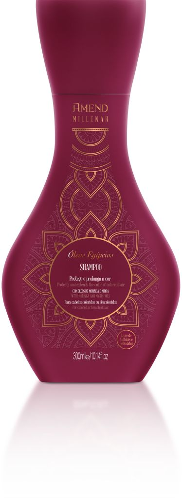 Shampoo Amend Millenar Óleos Egípcios - 300ml