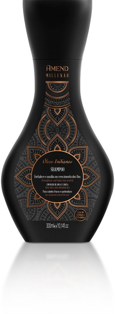 Shampoo Amend Millenar Óleos Indianos - 300ml