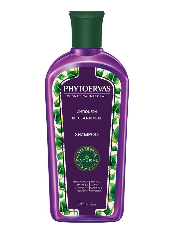 Shampoo Antiqueda Bétula Natural Phytoervas 250ml