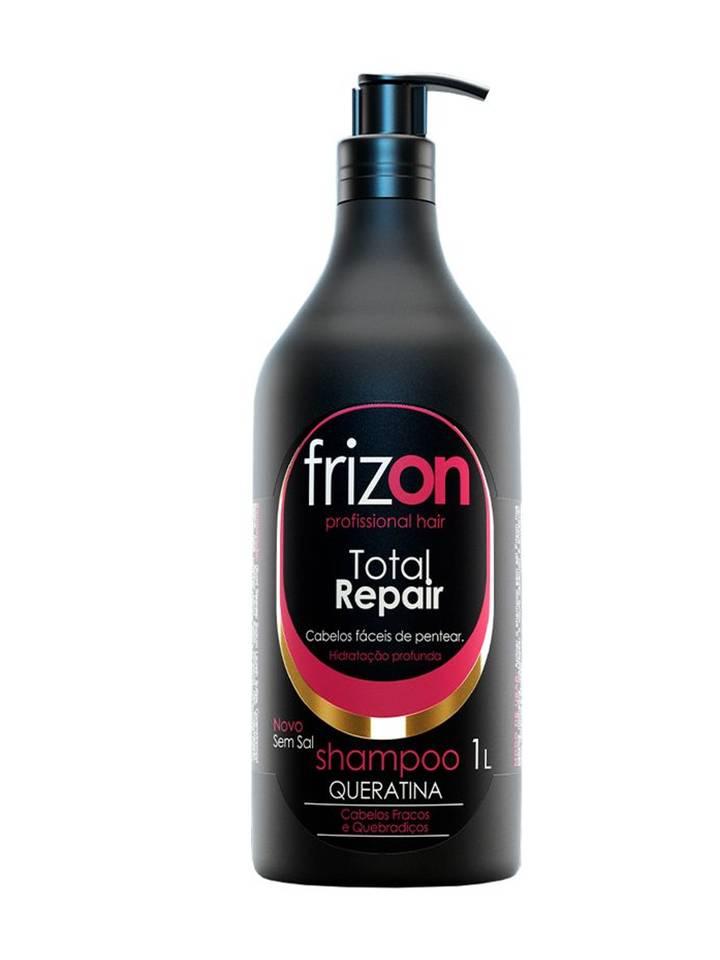 Shampoo Frizon Total Repair Queratina 1L