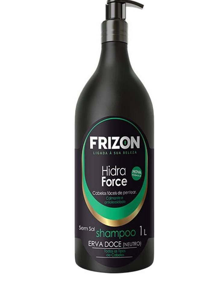 SHAMPOO HIDRA FORCE ERVA DOCE FRIZON 1L