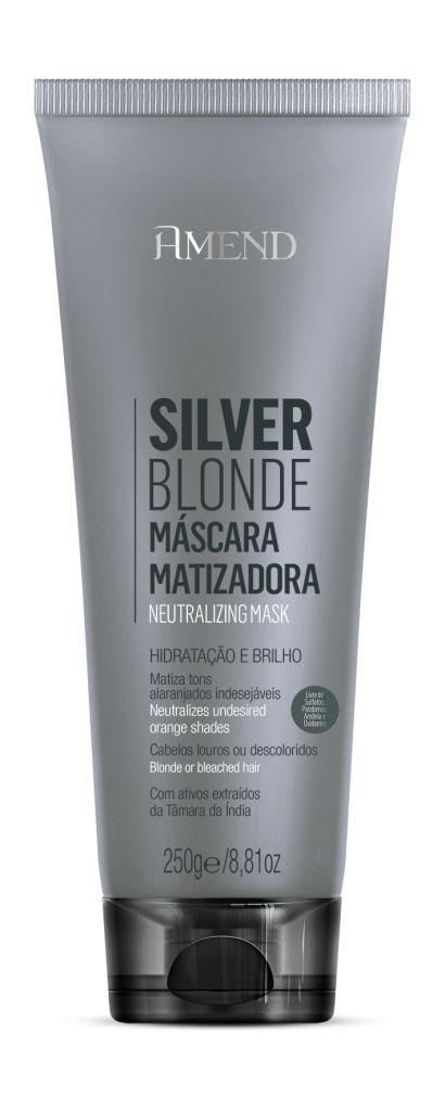 Silver Blonde Máscara Matizadora Hidratação e Brilho - 250g