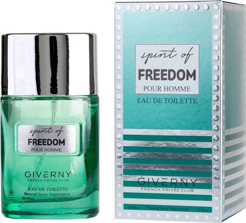 PERFUME MASCULINO SPIRIT OF FREEDOM POUR HOMME - GIVERNY 100ML