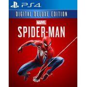 Homem Aranha Spider Man Digital Deluxe- PS4
