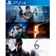 Resident Evil Triple Pack - PS4