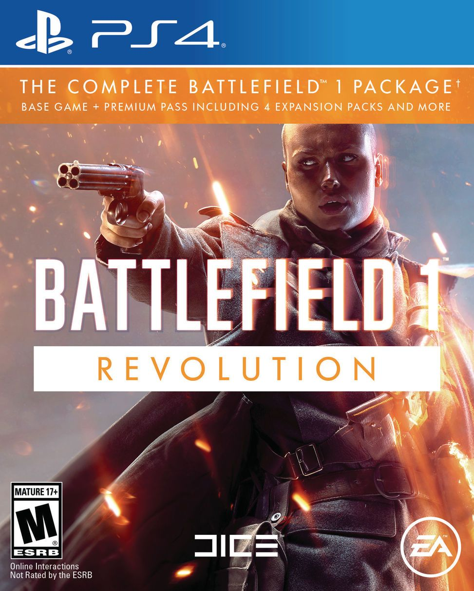 Battlefield 1Revolution  Bf1 - PS4   - Joy Games