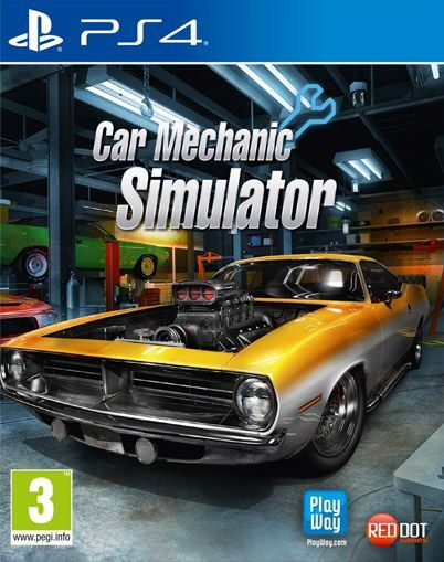 Car Mechanic Simulator - PS4  - Joy Games