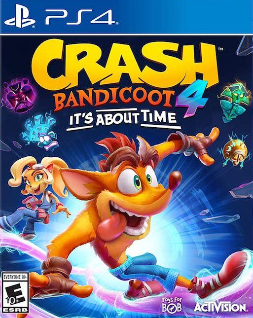 Crash Bandicoot 4: It´s About Time - PS4  - Joy Games