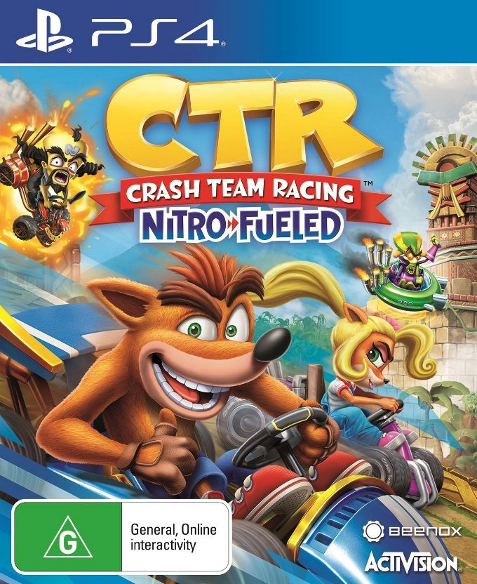 Crash Team Racing - PS4   - Joy Games