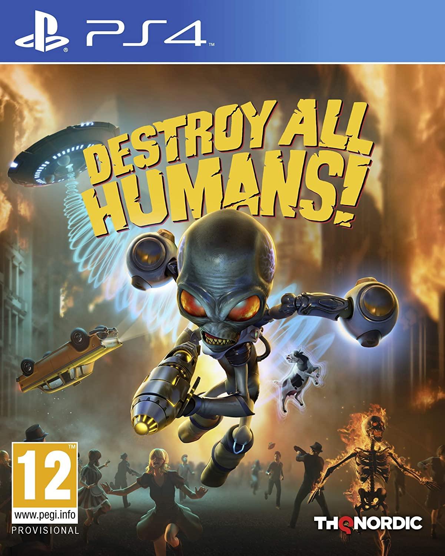 Destroy All Humans - PS4  - Joy Games