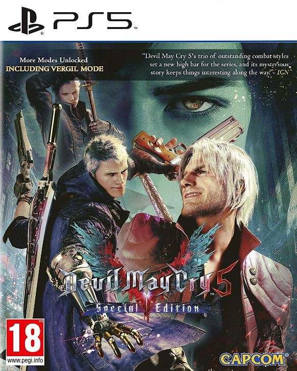 Devil May Cry 5 Special Edition - PS5  - Joy Games