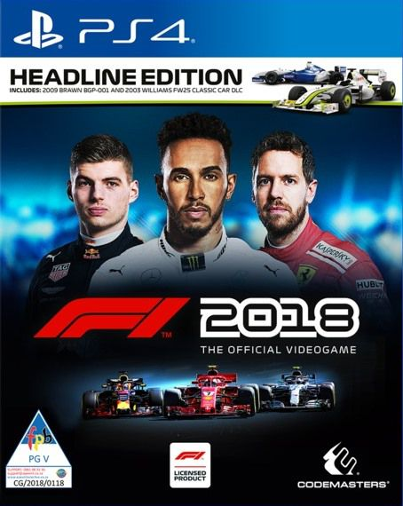 F1 2018 - PS4  - Joy Games