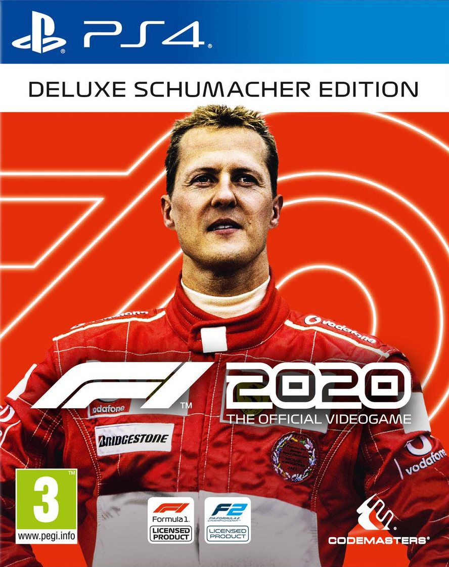 F1 2020 Deluxe Schumacher Edition - PS4  - Joy Games