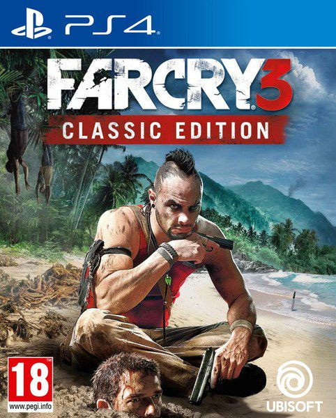 Far Cry 3 Classic Edition - PS4  - Joy Games