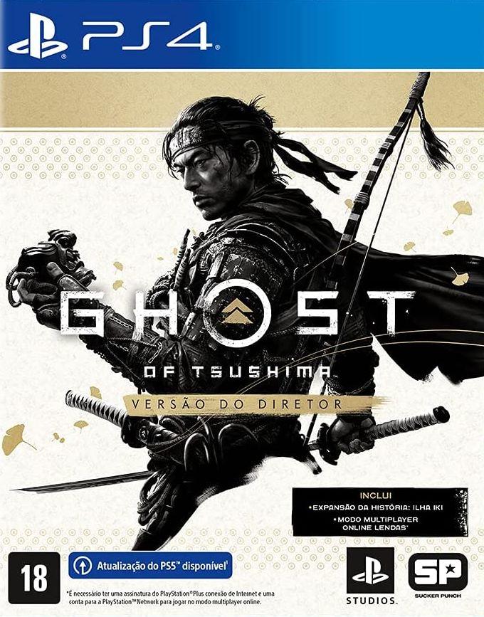 Ghost of Tsushima Versão do Diretor - PS4  - Joy Games