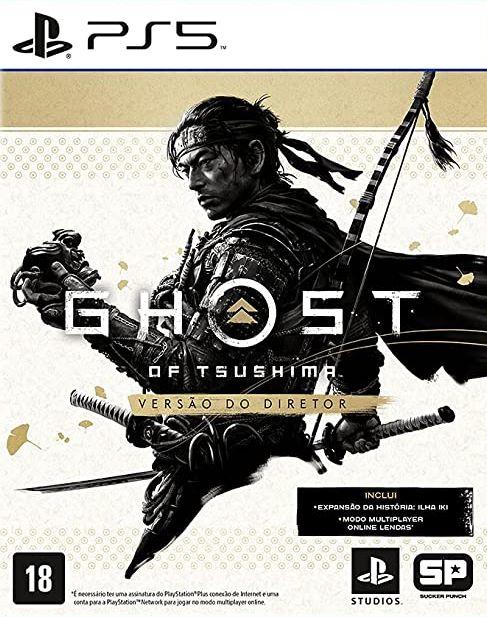 Ghost of Tsushima Versão do Diretor - PS5  - Joy Games