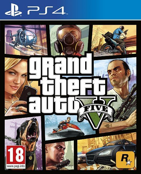 GTA V Grand Theft Auto V - PS4  - Joy Games